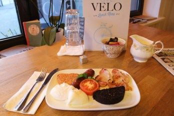 Full Velo, we source the best breakfast ingredients available locally.