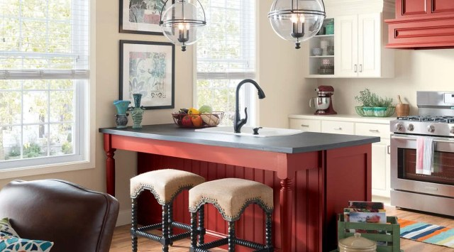 Kırmızı mutfaklar