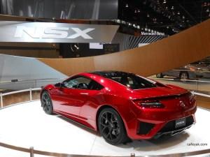 2016 Acura NSX Rear