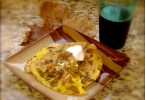 pomegranate turkey scrambler