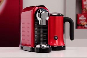 Кафе машина Carina Milk Red