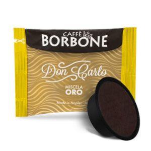 Caffe Borbone Don Carlo 100 Stk. Miscela Oro Lavazza a modo Mio Kompatiebel