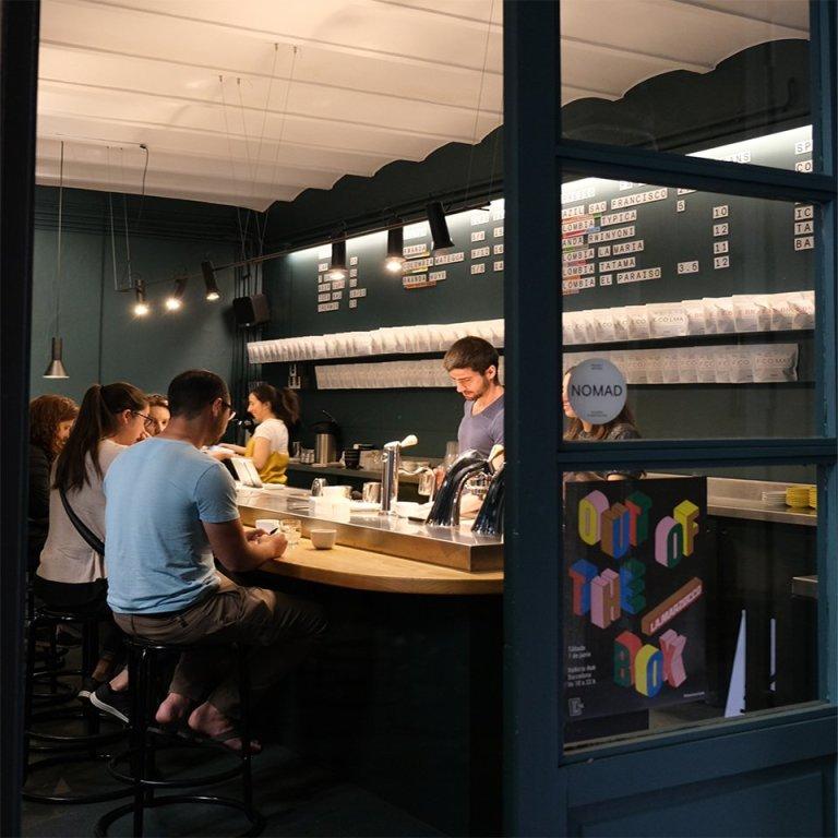 NOMAD咖啡廳巴塞隆納門市