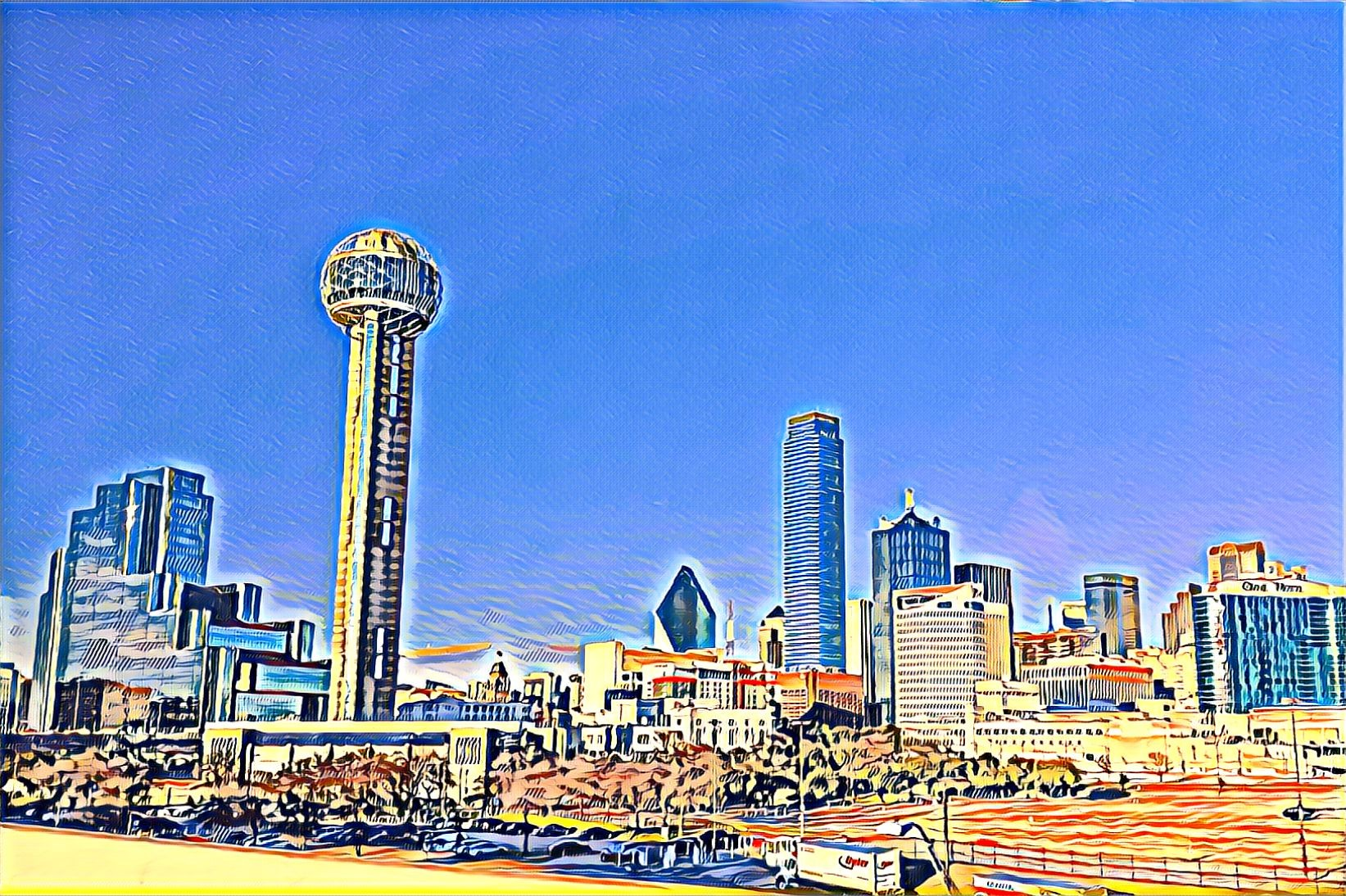 A City I Can't Quite Put My Finger On: Dallas, TX