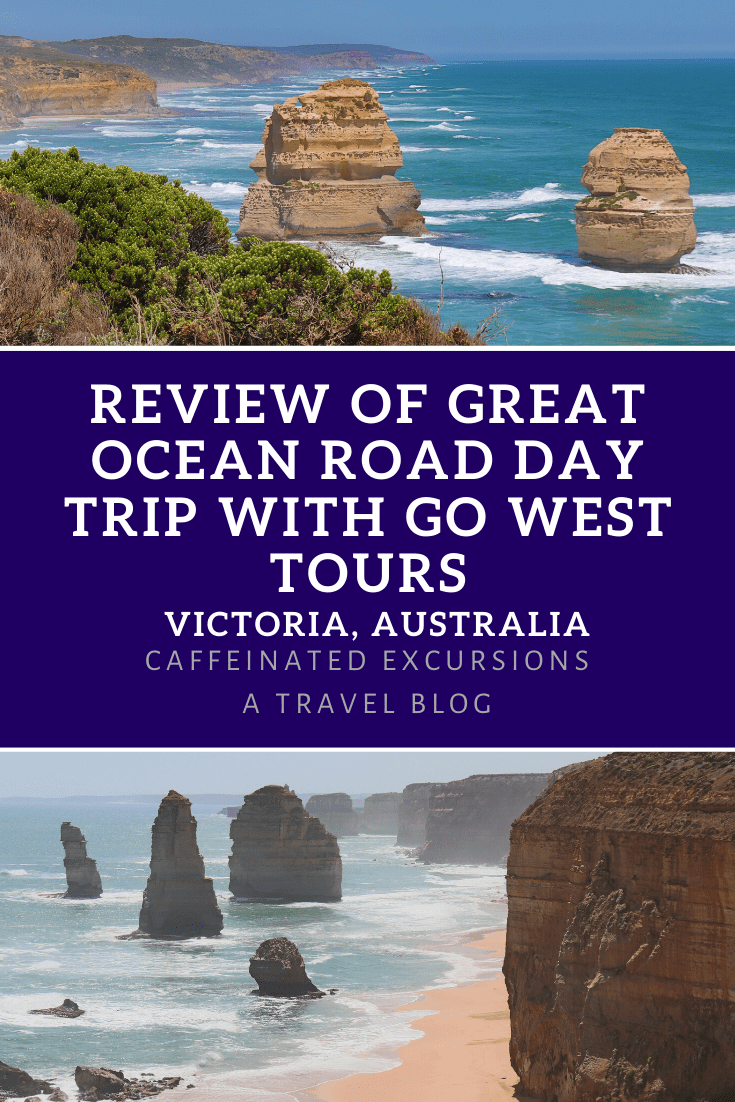 I recently visited the Great Ocean Road in Victoria, AU with #GoWestTours and wrote a review post! Check it out to see an honest summary of how it was, and get a glimpse of some of the beautiful scenery along this stunning stretch of coastline! #visitaustralia #visitvictoria #greatoceanroad #greatoceanroadtour #greatoceanroaddaytrip #tourreviews #travelblog #travelblogs #travelblogging #travelblogger #travelbloggers #visitmelbourne #melbourne #melbournedaytrips #travelguides
