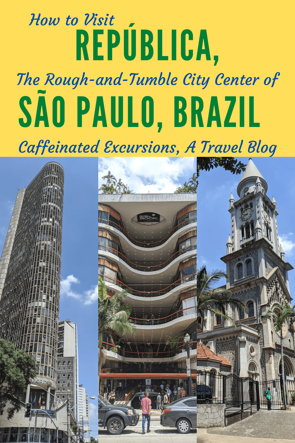 República, the center of São Paulo, is one of the city's most interesting areas. To learn about how to visit its most beautiful sites without running into trouble, check out this post! #saopaulo #saopaulobrazil #saopaulobrasil #sãopaulobrasil #república #repúblicasãopaulo #republicasaopaulo #republicasp #sampa #braziltravelguide #visitbrazil #thingstodoinbrazil #edificiocopan #edifíciocopan #copan #praçadarepública #sãopaulo360 #caffeinatedexcursions #travelblog #travelblogger #southamerica