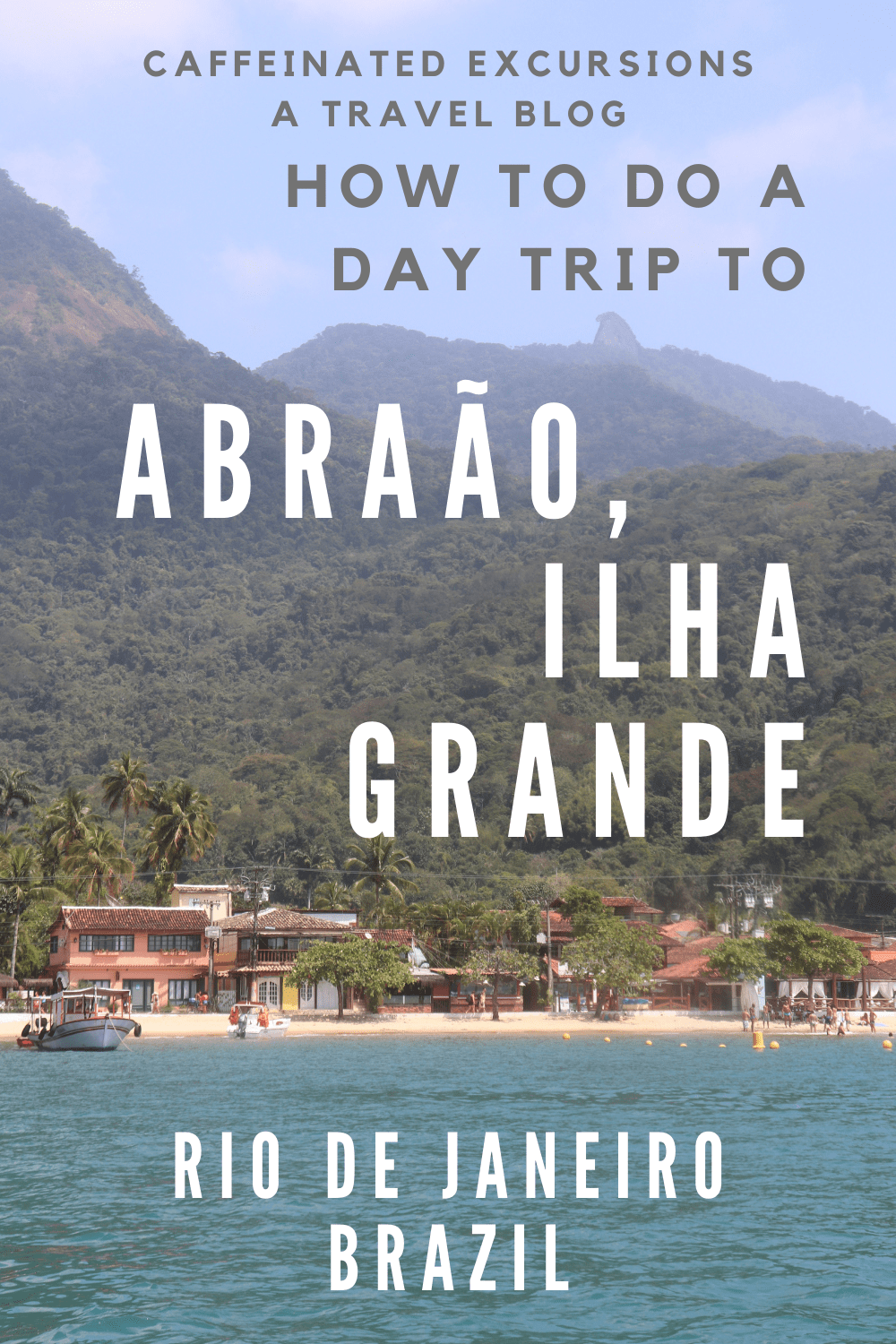 This blog post will explain how you can visit the famous Brazilian destination of Ilha Grande in just one day! Because this island is located between São Paulo and Rio de Janeiro, it's the perfect place to stop if you're traveling between the two cities! #ilhagrande #abraao #abraão #abraãoilhagrande #ilhagrandeabraão #angradosreis #angra #angrarj #angradosreisrj #abraãorj #ilhagranderj #angradosreisilhagrande #ilhagrandeangradosreis #riodejaneiro #brazil #rio #riodejaneirobrasil #brasil
