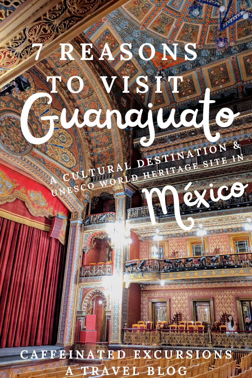 If you're interested in visiting a cultural destination in Mexico, be sure to consider Guanajuato! Although this small city has no beaches nearby, its charming historic center with colonial architecture is sure to delight visitors. It's easy to see why this town was desginated a UNESCO World Heritage Site in 1988! Curious? Check out this blog post to learn more!