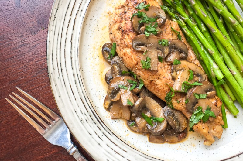 Chicken Lanzone with a Twist