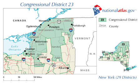 New_York_District_23_109th_US_Congress