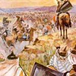 The Sun Stands Still (Joshua 10:1-15)