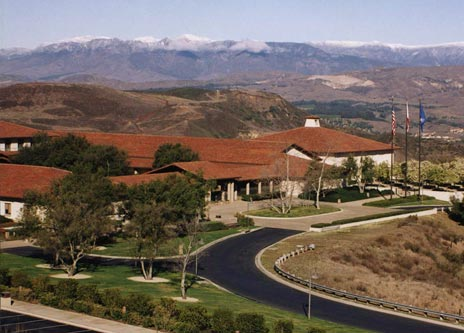 Exterior of Ronald Reagan Library