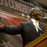 Herman Cain Makes His Case in Pella, Iowa