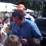 Rick Santorum at the Iowa Straw Poll
