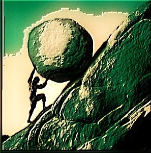 Chrisyphus: On a Fool's Errand