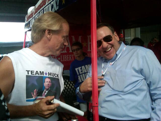 Randy Davis & Governor Mike Huckabee