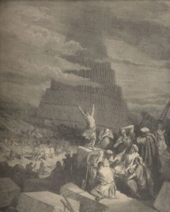 The Tower of Babel by Dore