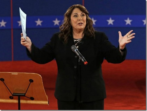 CNN's Candy Crowley Moderates Hofstra Debate