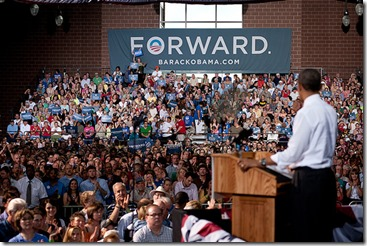 Barack Obama in Des Moines
