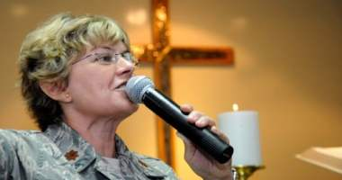 Chaplain (Maj.) Laura Adelia