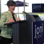 Joni Ernst in Waukee: I'm a Mom, a Soldier and a Conservative