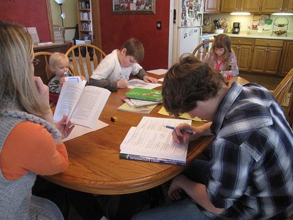 Gustoff Family - Homeschooling