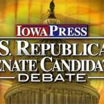 Iowa U.S. Republican Senate Debate Liveblog