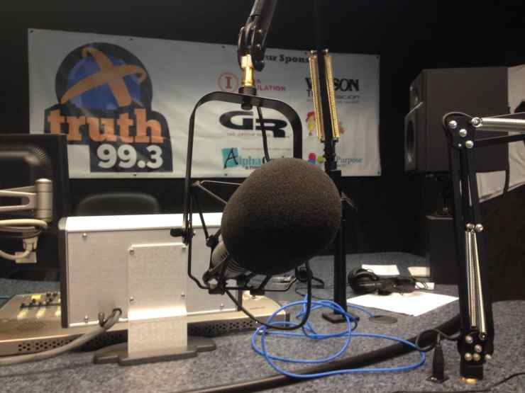 99.3 fm The Truth's old studio in Boone, IA.