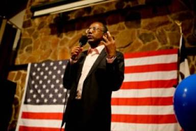 Ben Carson speaks at Polk County Republicans fundraiser on 8/24/14. Photo credit: Dave Davidson - Prezography.com