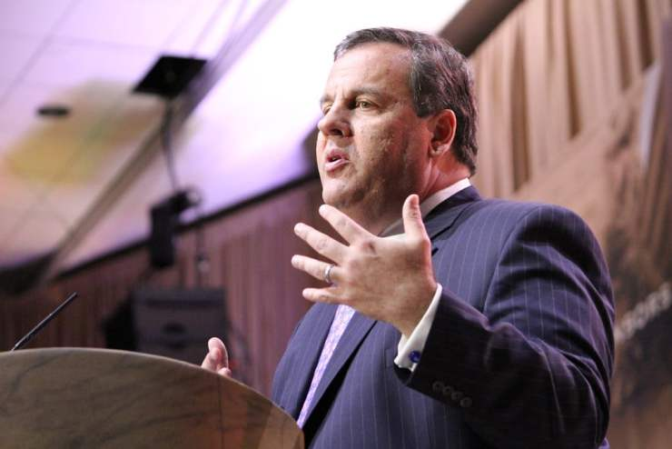 Chris Christie at CPAC 2014 in National Harbor, MD. Photo credit: Dave Davidson - Prezography.com