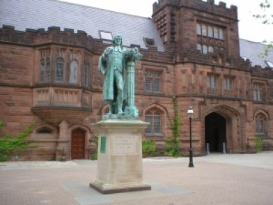 Statue of John Witherspoon at Princeton University Photo credit: Max VT (CC-By-NC-SA 2.0)