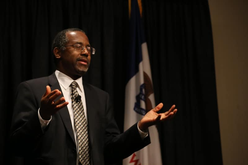 Dr. Ben Carson at The FAMiLY Leader Celebrate the Family Event - 11/22/14. Photo credit: Dave Davidson (Prezography.com)
