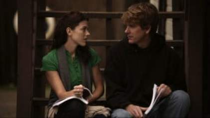 Amber Hewson (played by Elizabeth Ann Roberts) and Clay Walsh (played by Rik Swartwelder)