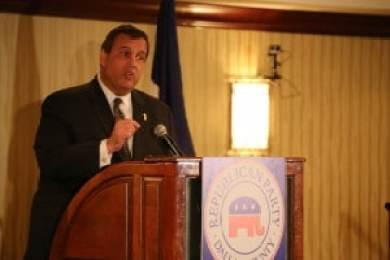 Gov. Chris Christie (R-NJ) at Dallas County Republicans event. >Photo credit: Dave Davidson - Prezography.com