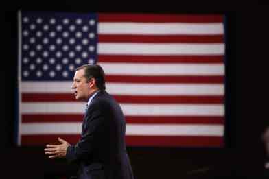 Ted Cruz speaking at CPAC 2015.Photo credit: Dave Davidson - Prezography.com