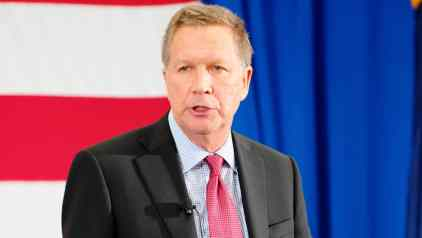 Gov. Kasich speaks at the First in the Nation Summit in Nashua, NHPhoto credit: Michael Vardon (CC-By-SA 4.0)
