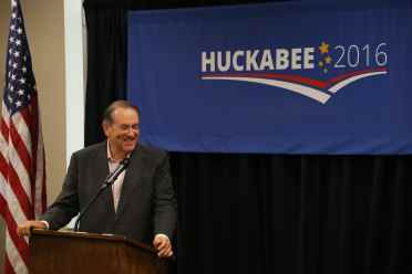 Mike Huckabee in Pella - 6/25/15Photo credit: Dave Davidson - Prezography.com