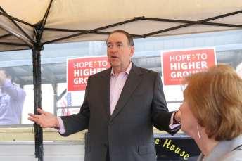 Mike Huckabee in Chariton, IA - 6/25/15Photo credit: Dave Davidson - Prezography.com