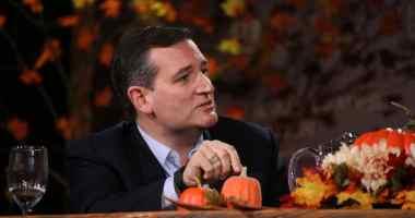 U.S. Senator Ted Cruz (R-TX) at the Presidential Family Forum in Des Moines, IA.