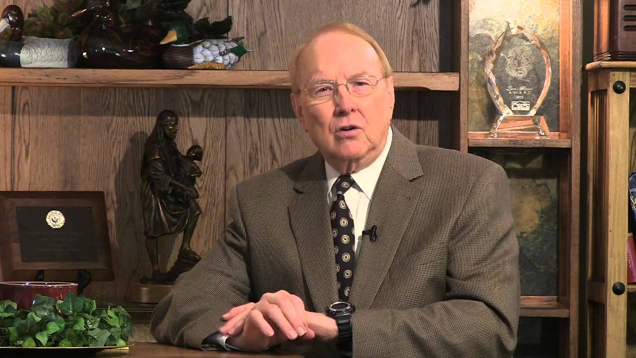 Dr. James Dobson: founder & president of Family Talk.