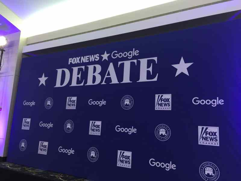 Fox News/Google GOP Presidential Debate in Des Moines, IA
