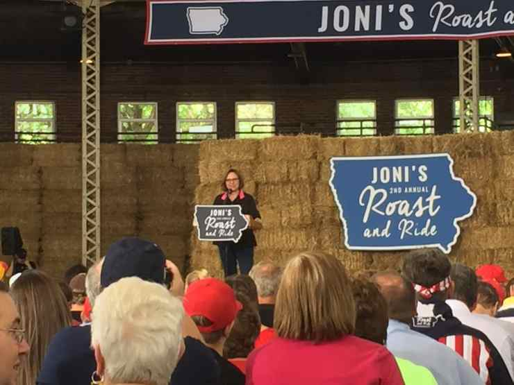 U.S. Senator Deb Fischer (R-NE) at 2nd Annual Roast and Ride