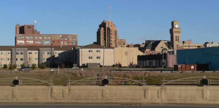Downtown Sioux City, IA