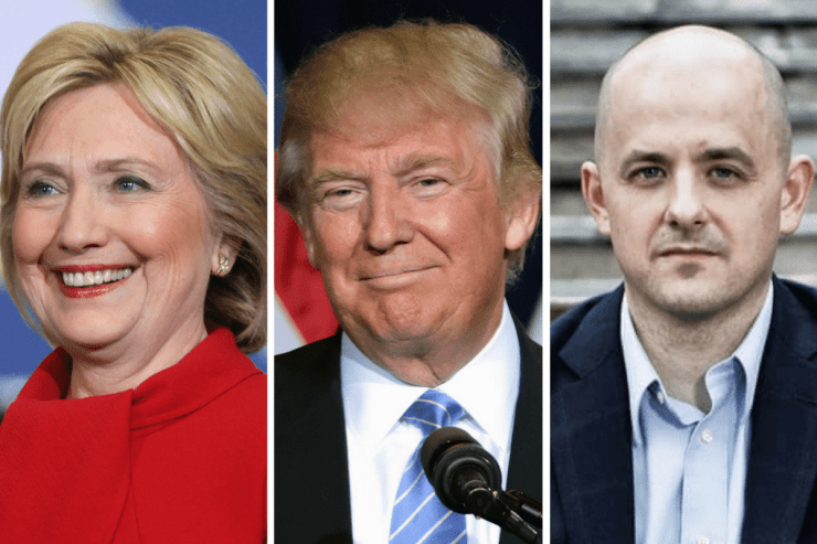 Hillary Clinton, Donald Trump & Evan McMullin are in statistical tie in Utah.Photo credit: Gage Skidmore (for Trump & Clinton pics)