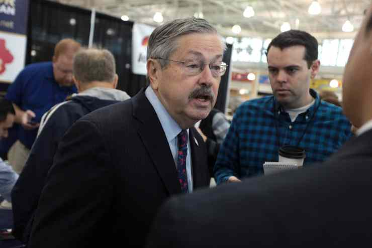 Iowa Gov. Terry Branstad at the 2015 Growth & Opportunity Party. Photo credit: Gage Skidmore
