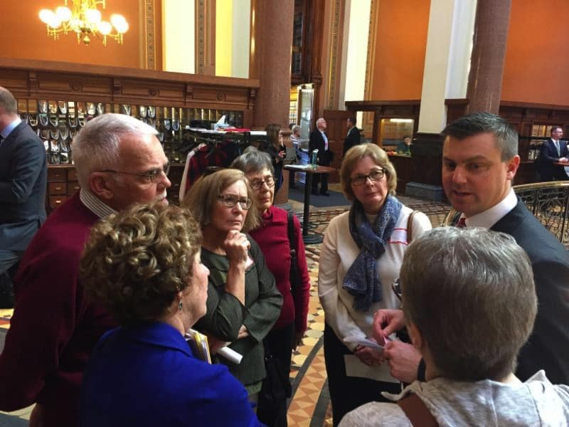 Sen. Whitver elected Iowa Senate majority leader