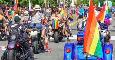 Capital Pride Parade in Washington, DC on 6/9/18. Photo Credit: Ted Eytan