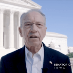(Video) Grassley Pushes Cameras for Supreme Court
