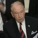 Senator Grassley Provides Perfect Reaction To Senate Democrats' Tantrum