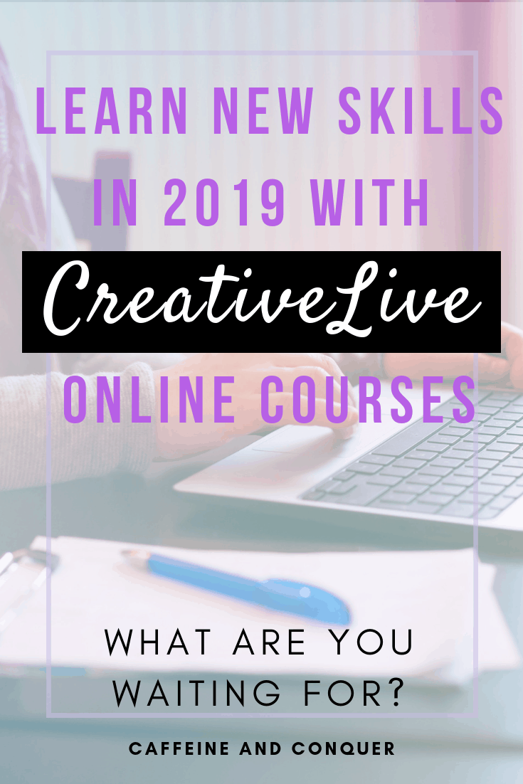 CreativeLive Review: Learn a New Skill in 2019 - Caffeine
